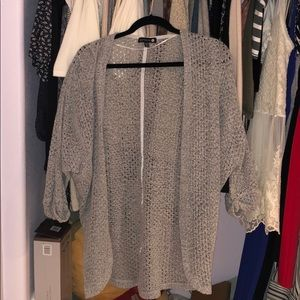 Cotton On Long Grey Cardigan